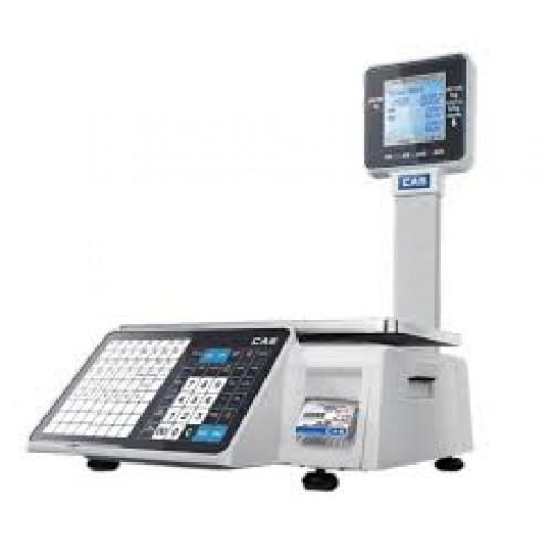 Весы торговые с печатью этикеток CAS CL3500-P