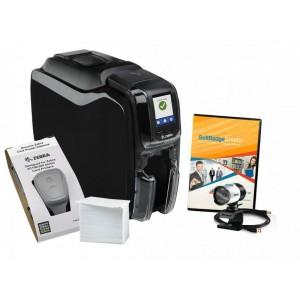 Принтер для пластиковых карт Zebra ZC350