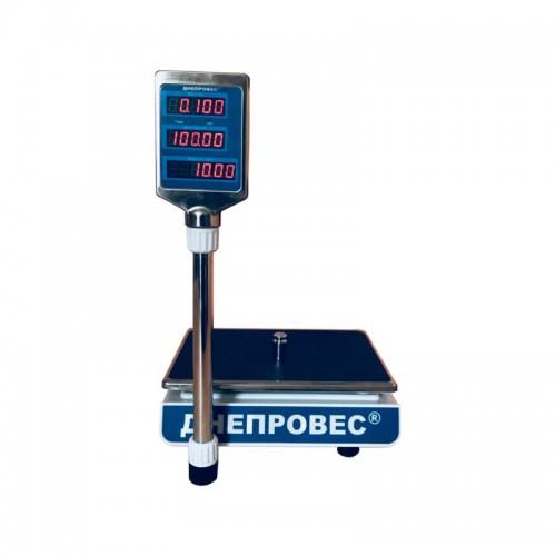 Весы торговые ДНЕПРОВЕС ВТД-ЕЛ (F902H-EL)