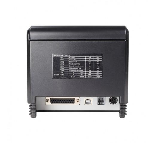 Чековый термопринтер XPrinter XP-Q300 (USB+RS232+Lan)