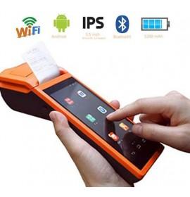 Мобильный pos-терминал с принтером чеков Sunmi V1