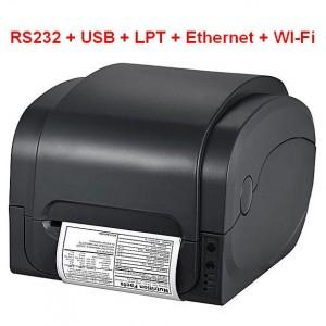 Принтер этикеток GP-1125T RS232+USB+LPT+Ethernet+Wi-Fi термотрансферный