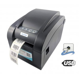 Принтер этикеток Xprinter XP-358BМ USB+RS-232+Ethernet