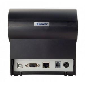 Чековый термопринтер Xprinter XP-D610L (USB+LAN+RS232+Звонок)