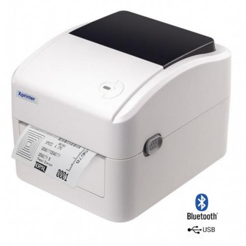 Термопринтер этикеток XPrinter XP-420B USB+Bluetooth