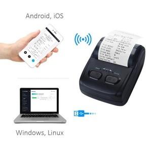 Принтер Bluetooth для беспроводной печати чеков PS-H200Bt