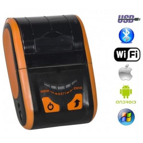 Портативный чековый принтер SPARK - RPP200 BWU (USB+Bluetooth+WiFI)