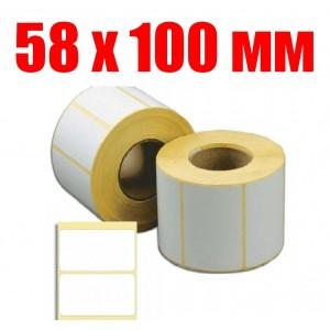 Термоэтикетка 58 мм Х 100 мм (500шт)