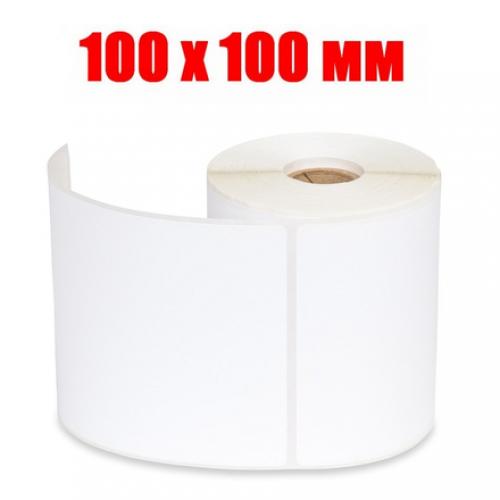 Этикетка полипропилен 100х100 (500 шт.)