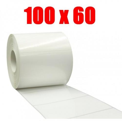 Этикетка полипропилен 100х60 (1000 шт.)