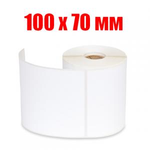 Этикетка полипропилен 100х70 (500 шт.)