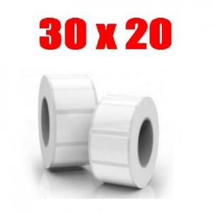 Этикетка полипропилен 30х20 (2000 шт.)