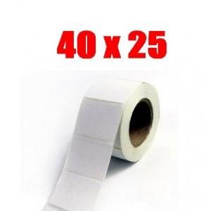 Этикетка полипропилен 40х25 (2000 шт.)