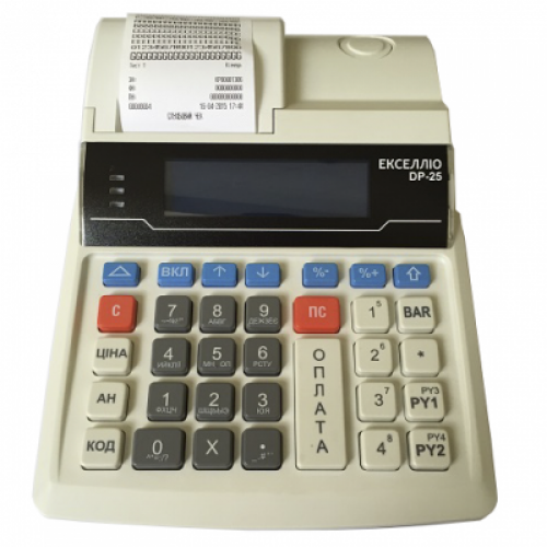 Кассовый аппарат Экселлио DP 25 Ethernet + GPRS