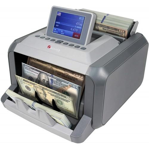 Счетчик банкнот с автоопределением валюты и номинала Cassida 7750R