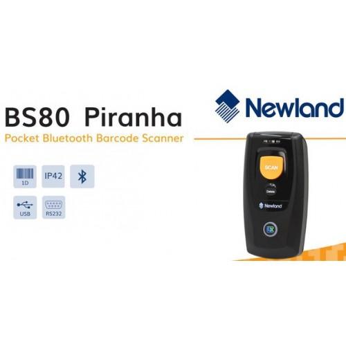 Беспроводной сканер штрих-кода Newland BS80 Piranha