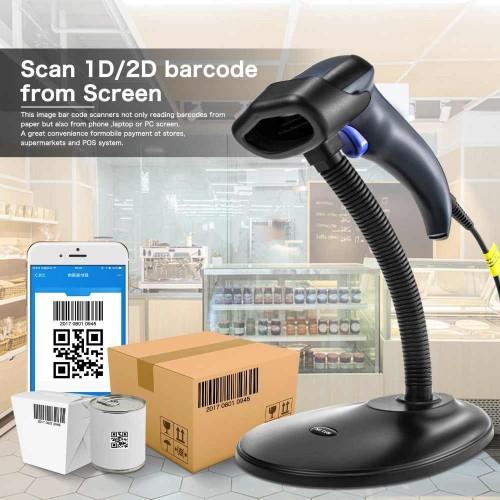 Сканер штрихкодов Netum L5 2D USB + подставка в комплекте