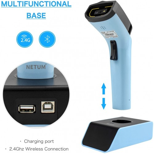 Беспроводной сканер штрих-кода NETUM DS7500 Bluetooth 2D