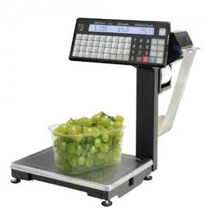 MАССА-К ВПМ-Т1 печатающие торговые весы с устройством подмотки ленты
