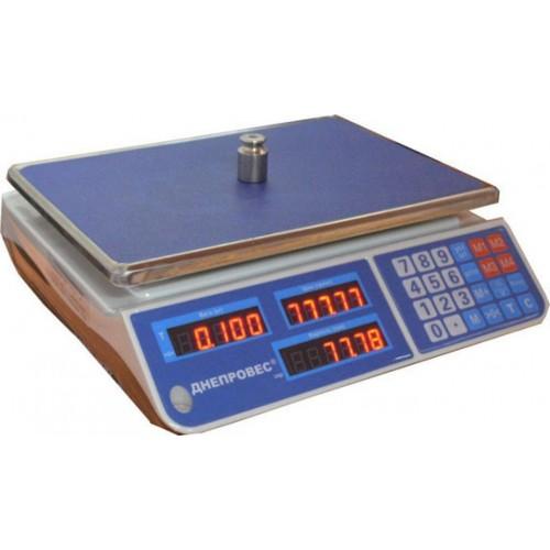 Весы торговые ДНЕПРОВЕС ВТД-ЕЛ1 (F902H-EL1)