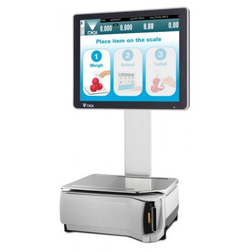 Сенсорные весы самообслуживания DIGI SM-5300 SSP