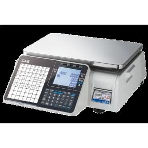 Весы торговые с печатью этикеток CAS CL3500-B
