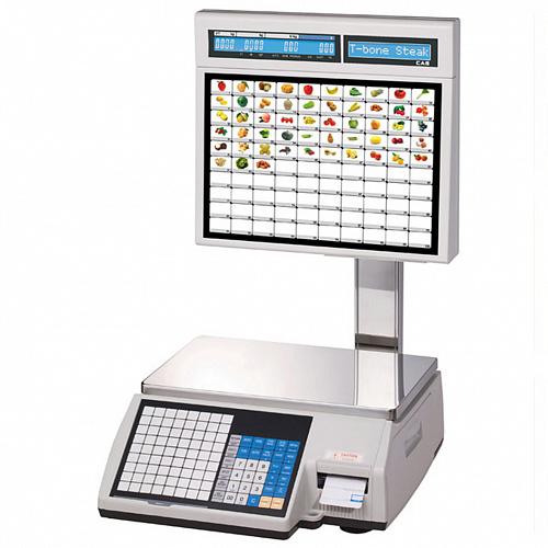 Б/У Весы самообслуживания CAS CL5000J-IS