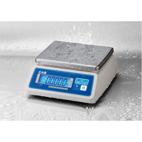 Весы фасовочные с пыле-влагозащитой CAS SW II-W 3кг, 6кг, 15кг, 30кг
