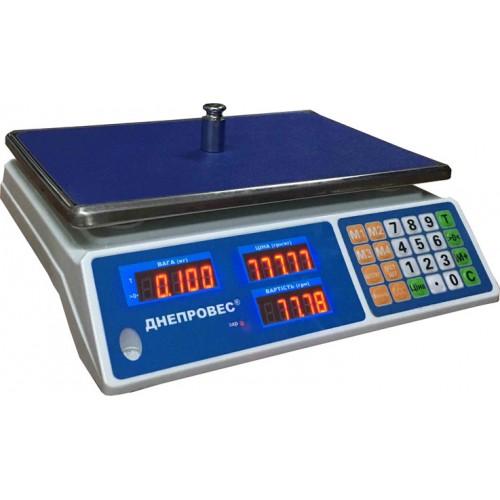 Торговые весы Днепровес ВТД-Л2 15кг