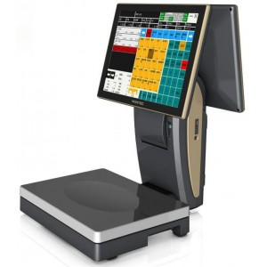 Сенсорный POS-терминал Wintec ScalePOS со встроенным чековым принтером и весами