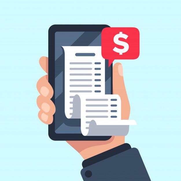 Печать электронных чеков со смартфона через ПРРО